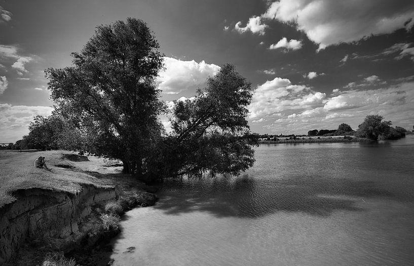Wegdromen aan de Maasoever van Den Bosch van Jasper van de Gein Photography