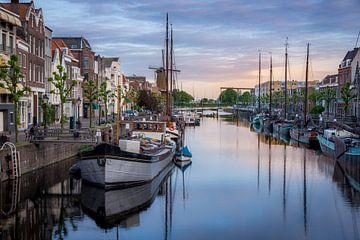 Delfshaven in de avond van Prachtig Rotterdam