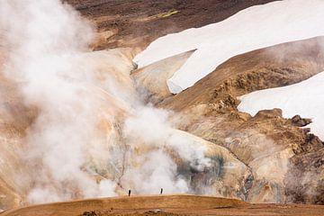 Warme wandeling van Leendert Noordzij Photography