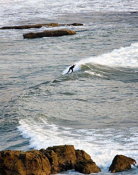 Surfen in de Algarve van Paul Teixeira