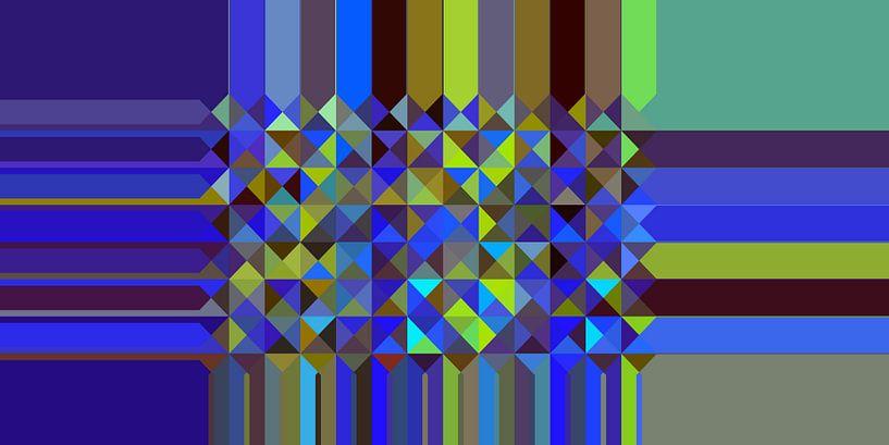 Dreieck Muster 05 von Marion Tenbergen