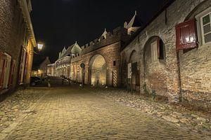Amersfoort Koppelpoort bij nacht