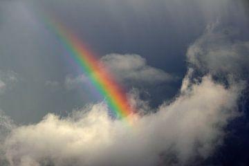 Regenboog na regenbui van