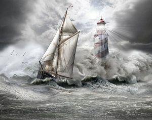 stormy weather 1 van Ron jejaka art