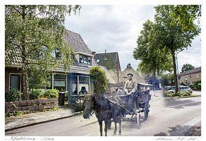 Magdaleenweeg / Zeeweg in Huizen (oud & nieuw serie)