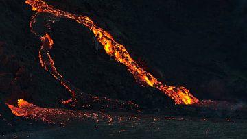 Lavafall von Timon Schneider