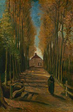 Pappelallee im Herbst, Vincent van Gogh