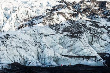 IJsland Gletsjer van René Schotanus