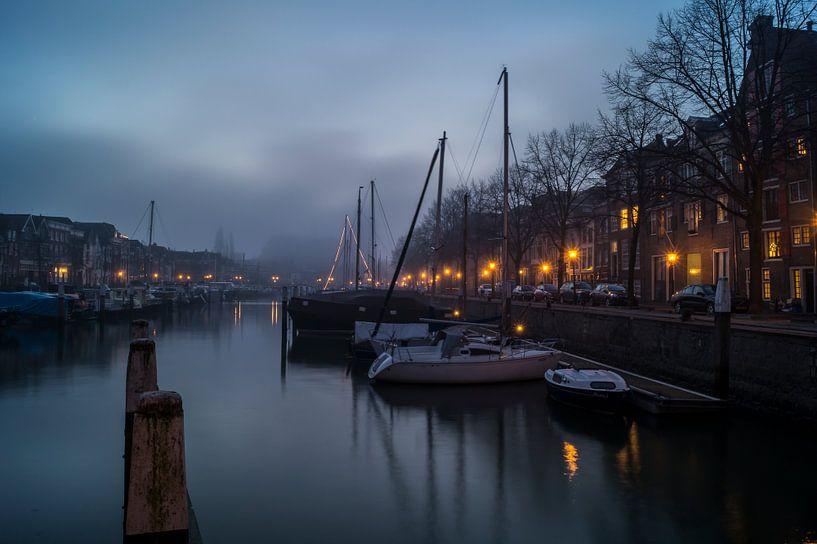 Nieuwe Haven - Dordrecht van Jan Koppelaar