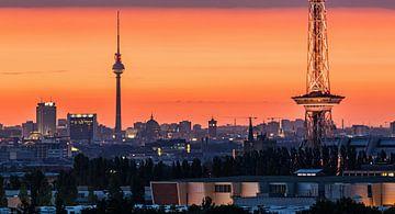 Berlin - Mitte au lever du soleil