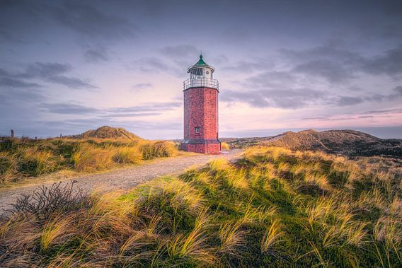 Lighthouse Red Cliff (Kampen / Sylt / North Sea) van Dirk Wiemer
