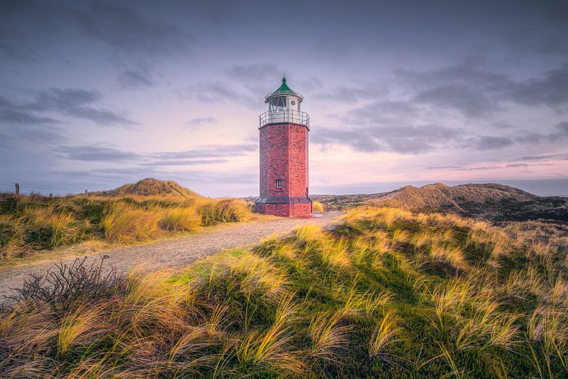 Achteckiger Leuchtturm (Rotes Kliff / Kampen / Sylt) von Dirk Wiemer