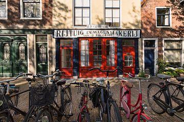 Alte Wagenmakerij in Leiden von Charlene van Koesveld