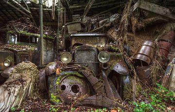Rusty Oldtimer van Daan Feenstra