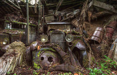 Rusty Oldtimer van