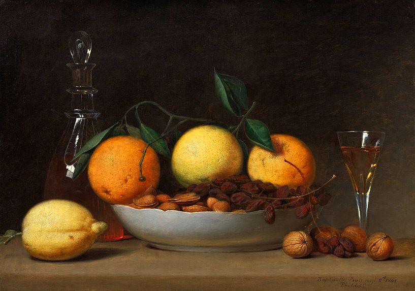 een dessert, Raphaelle Peale van Liszt Collection