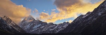 Mount Cook Sunrise van Keith Wilson Photography