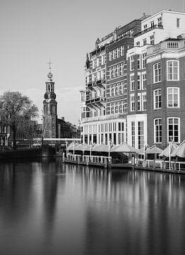 Amsterdamer Architektur, schwarz auf weiß. von Lorena Cirstea