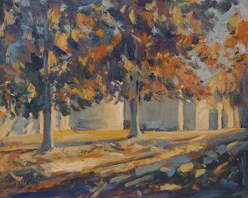 Der Herbst im Park von Nop Briex