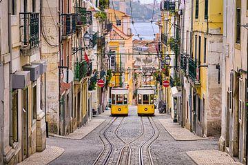 Straten van Lissabon van Michael Abid