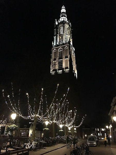 Amersfoort by night van Daniel Chambers