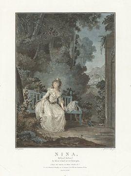 Porträt, Jean François Janinet, 1787 von Atelier Liesjes
