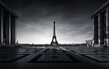 Eiffeltoren Parijs von Martijn Kort
