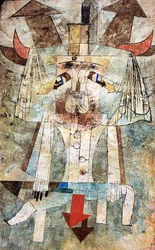 Paul Klee.Der wilde Mann