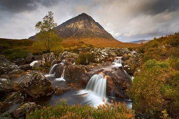 Buachaille Etive Mor, Schottland von Peter Bolman
