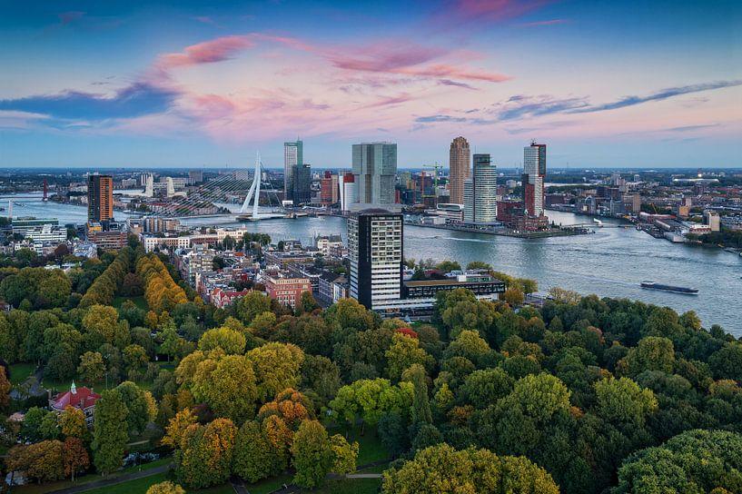 Herfst in Rotterdam van Rob de Voogd / zzapback