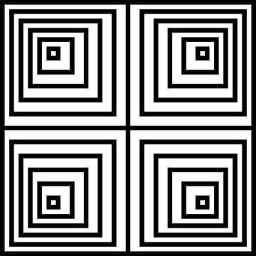 Verschachtelt   Versetzt   02x02x02   N=06   V40   W von Gerhard Haberern