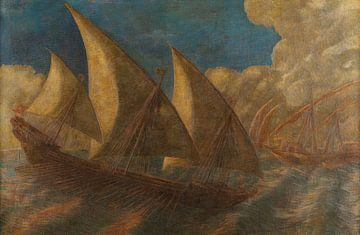 Caravelle pisane, Gaetano Previati