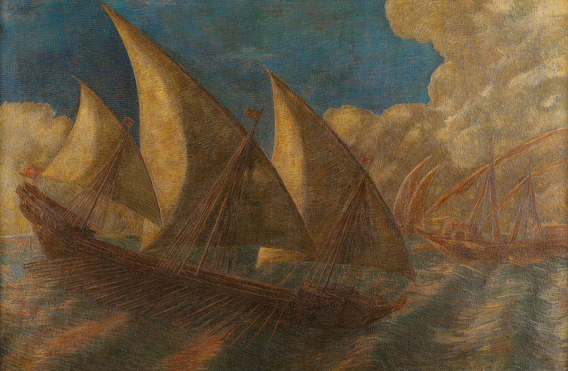 Caravelle pisane, Gaetano Previati von Meesterlijcke Meesters