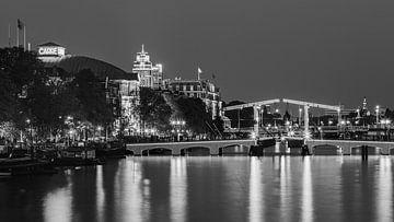 Theater Carre und die Skinny Bridge von Henk Meijer Photography