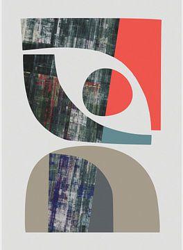 Abstracte samenstelling 1203 van Angel Estevez