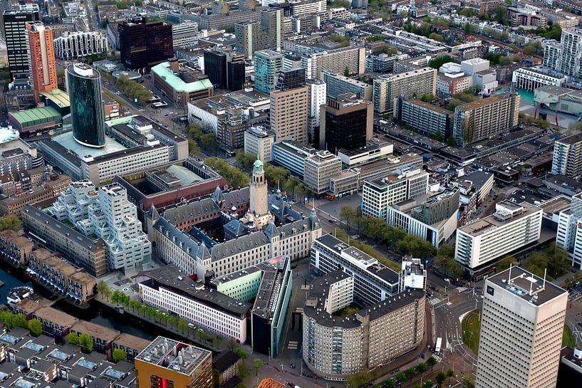 De Coolsingel van Rotterdam van Roy Poots