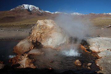 El Tatio geisers, Altiplano, Andes, Chili van A. Hendriks