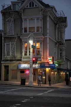 San Francisco bij Nacht van Ton Tolboom