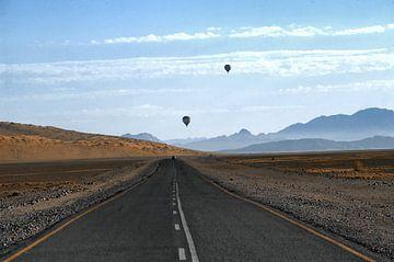 Ballons über der Namib von Rinke van Brenkelen