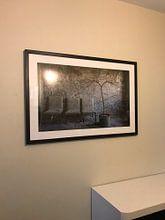 Klantfoto: Wachthoekje in het Pripyat hospital МСЧ-126 van Karl Smits, als ingelijste fotoprint