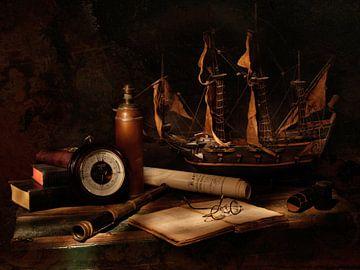 Spyglass met zeilschip van Ruud Laurens
