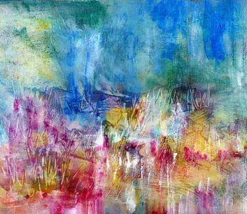 Landschaft - farbig geträumt von Claudia Gründler
