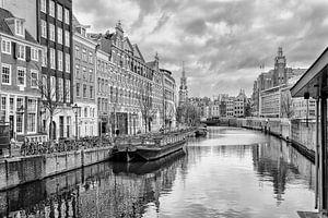 Het Singel(Bloemenmarkt) in Amsterdam.