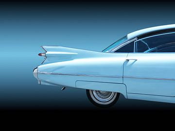 Amerikaanse vintage auto's Sedan Deville 1959 van Beate Gube