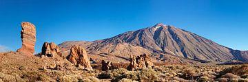 Los Roques de Garcia, Pico del Teide, Tenerife, Canaries, Espagne sur Markus Lange