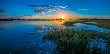 Blue Lagoon sur Reint van Wijk