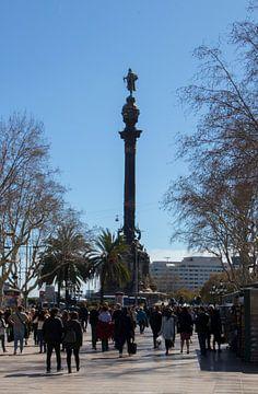 Columbus Monument, Barcelona sur Max Schollen