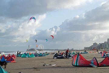 Kitesurfen Scheveningen van Judith Cool