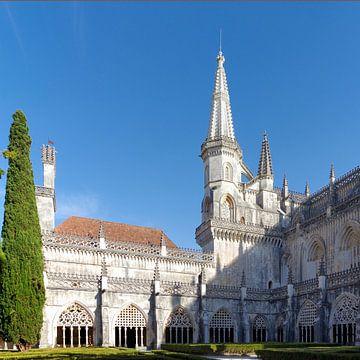 Le cloître du monastère de Batalha (Portugal) sur Berthold Werner