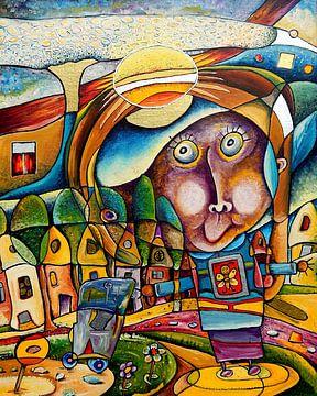 Van Hannah's kleine wereld  A van Gertrud Scheffler